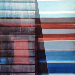 Deep Blue, 2016 100x70cm