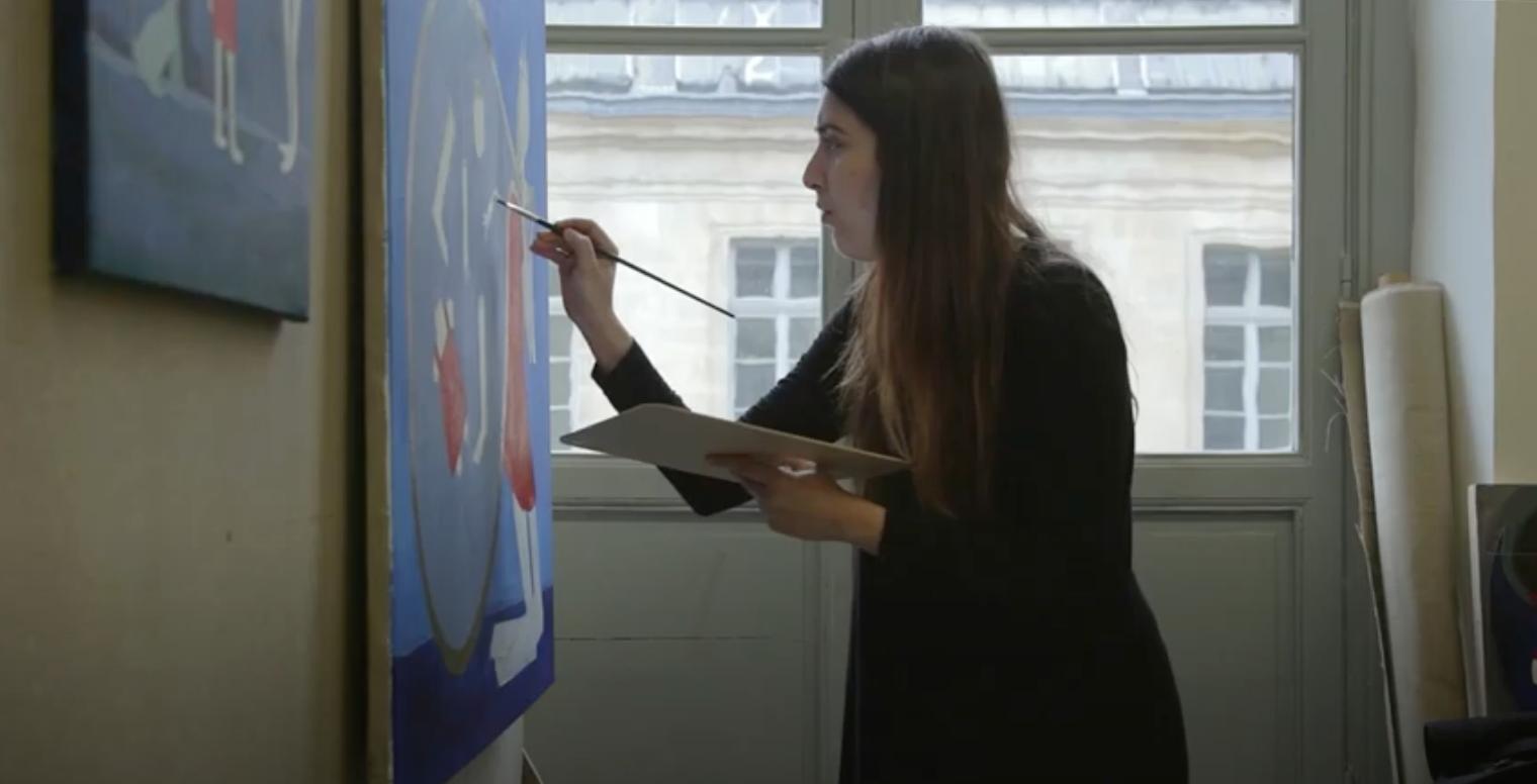 Film Portraits d'étudiants syriens aux Beaux-Arts de Paris