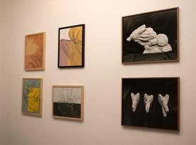 Œuvres de Nour Asalia et Aurélien Froment  ©Paul-Henri Nivet