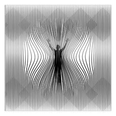 Compression, 2015 Impression sur toile 120 x 120 cm © Dino Ahmad Ali