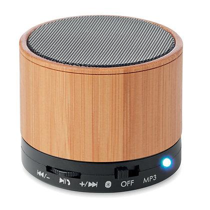 Altavoz Bambú Bluetooth
