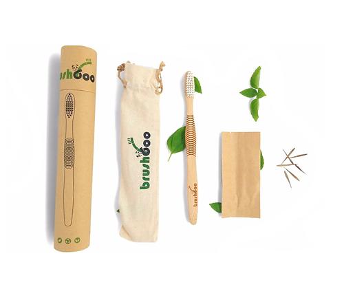 Pack premium - Cepillo de dientes de bambú natural
