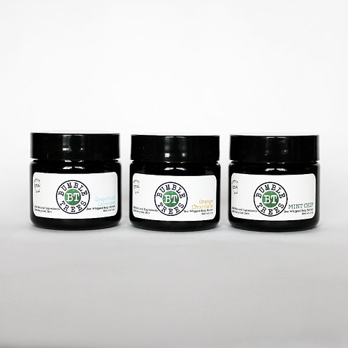 1oz Body Butter Trio Set