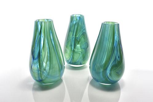 Swirl Vase in Green