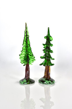 Glass Redwood Tree