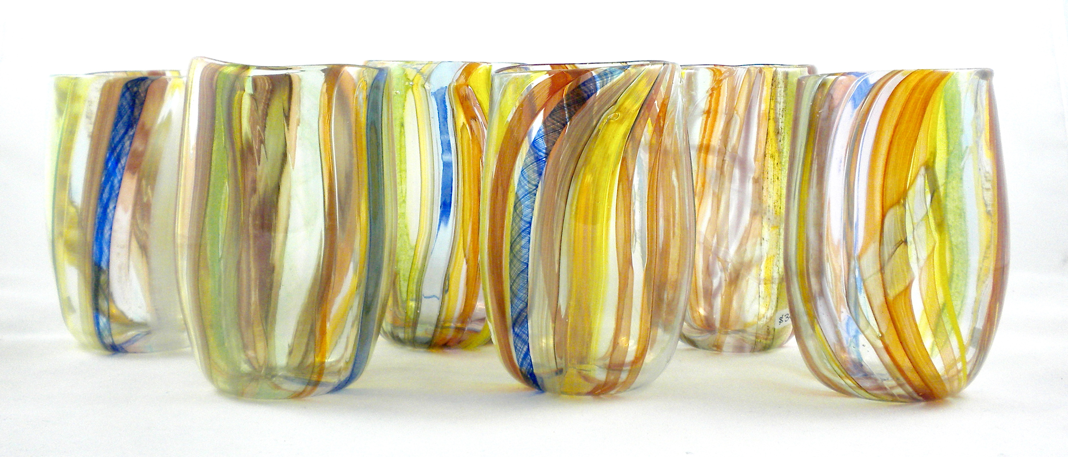 Wild Rainbow Glasses