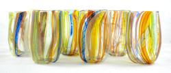 Wild Rainbow Glasses