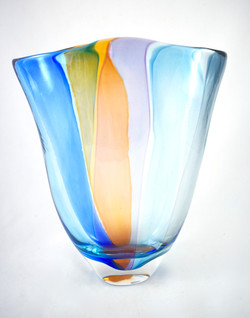 Sky Rainbow Vase