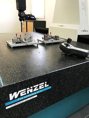 Salle métrologie Usiprecis Gabarits de contrôle Wenzel LH87