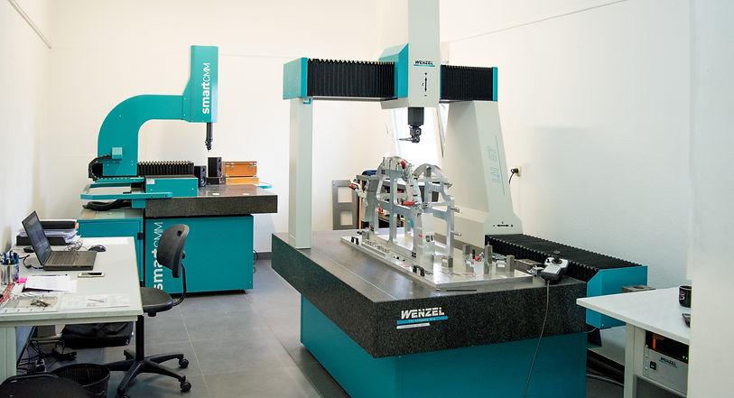 Salle métrologie Usiprecis Gabarits de contrôle Wenzel LH87 wenzel smartCMM