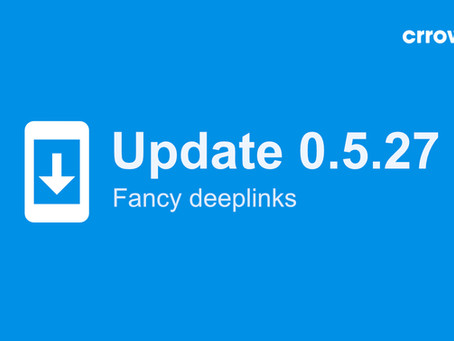0.5.27 is here - with fancy deeplinks