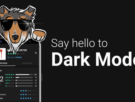 Update 0.5.23 - Dark mode is here!
