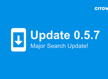 0.5.7 is here - with a major update to search! 🔍