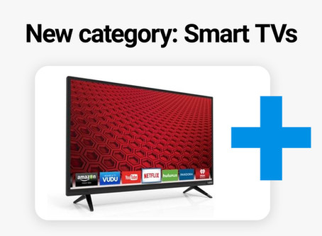 Smart TVs - now in Crrowd! 📺
