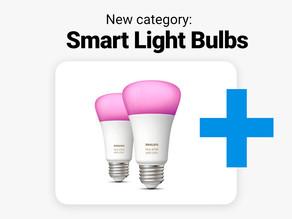 Smart light bulbs - now in Crrowd!