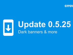 0.5.25 is here - with dark banners & more