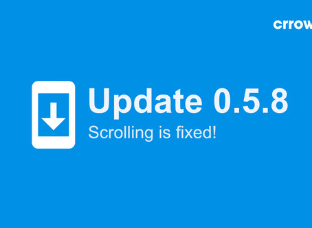 0.5.8 is here - with smooth scrolling! ⚽