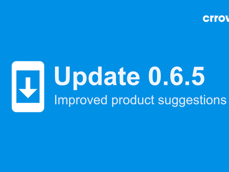 0.6.5 is here - with better product suggestions