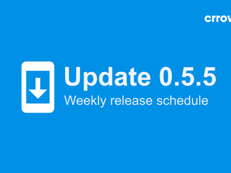 0.5.5 is here - we are adopting a weekly release schedule! 📅