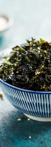 Sweet and Salty Roasted Dried Seaweed, H