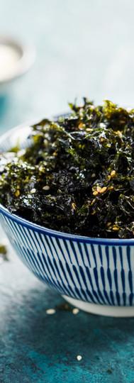 Sweet and Salty Roasted Dried Seaweed, H