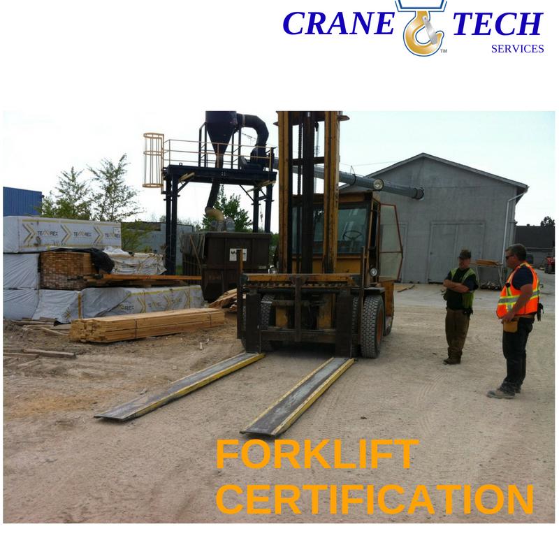 forklift certification wed des