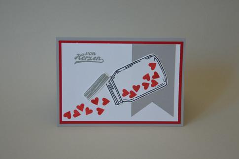 Geschenkkarte | Von Herzen
