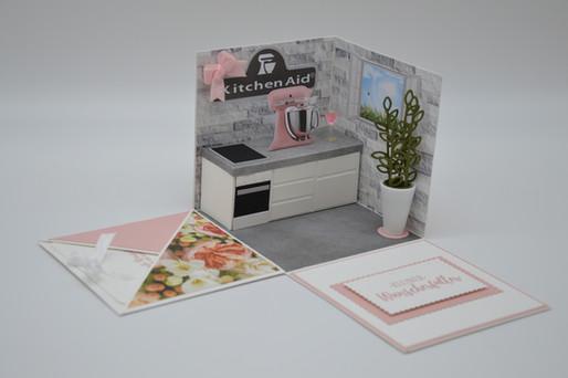 Kitchen Aid zum Einzug und zum Geburtstag.