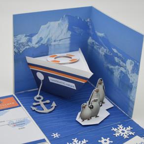 Eine Kreuzfahrt von Grönland bis Island erfordert eine ganz besondere Verpackung.
