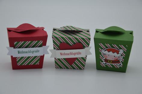 Goodiesboxen weihnachtlich