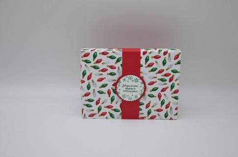 Weihnachtsverpackung für Schokolade