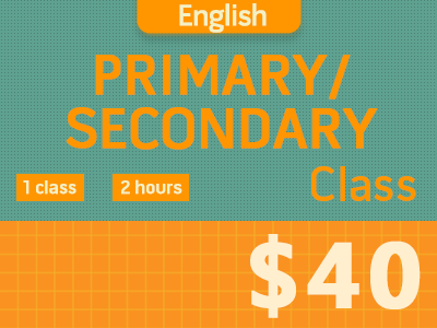 English Primary/Secondary Course