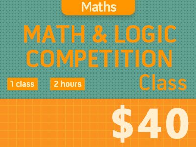 Math & Logic Competitions Course (Group 4-12P)