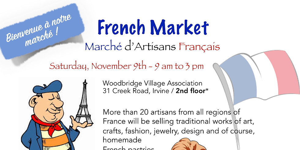 The International School of Orange County at the French Artisan Market