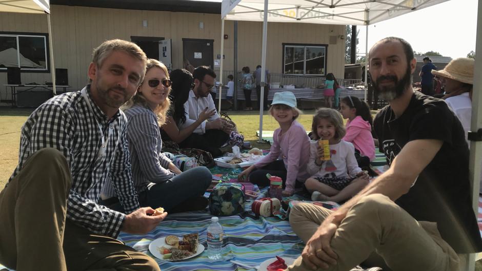 The International School of Orange County 2018 Thanksgiving Potluck