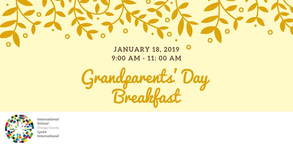 Grandparents' Day Breakfast