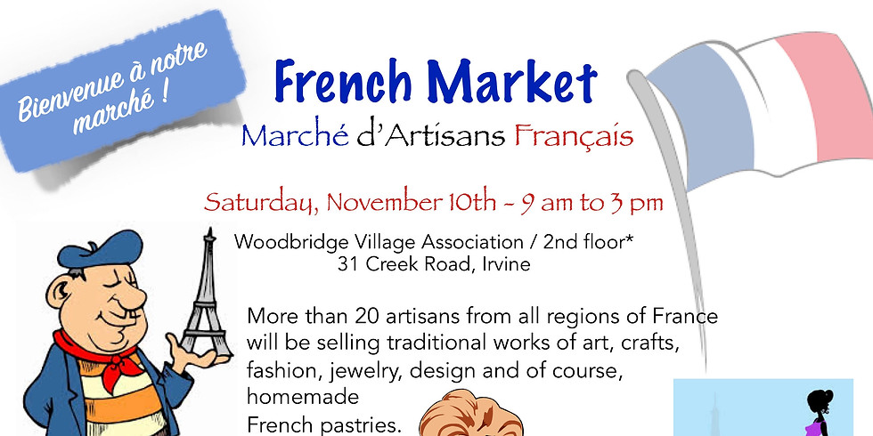 French Artisan Market and Holiday Arts & Craft Show