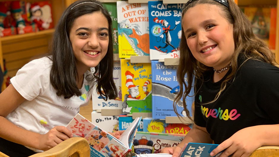 Kicking off the holiday season with our 2019 Barnes & Noble Book Fair and Fundraiser