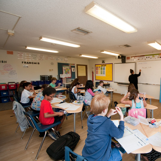 5th grade classroom