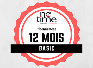 Abonnement 12 mois au fitness no time premium training à Sion