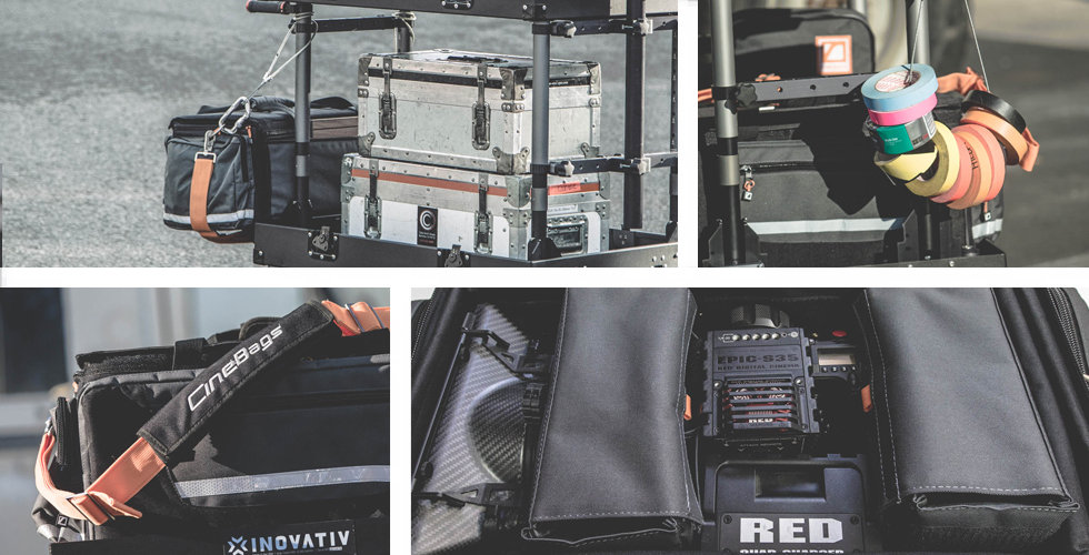1st AC bag, camera assistant bag, production bag, tool bag, AKS bag, production field case, camera accessory bag, CineBags CB01 Production Bag