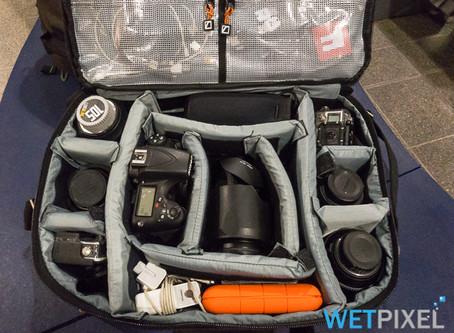 Wetpixel review CineBags Lens Smuggler