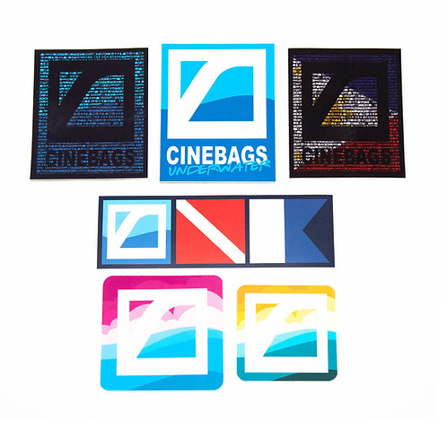 CineBags sticker pack
