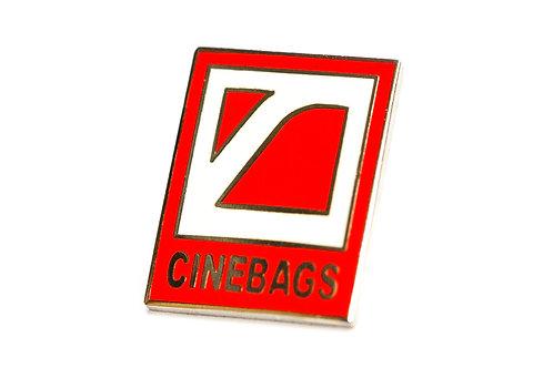 CineBags metal pin