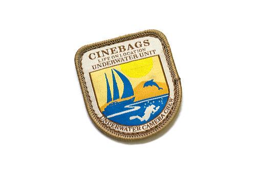 CineBags logo patch - adventure