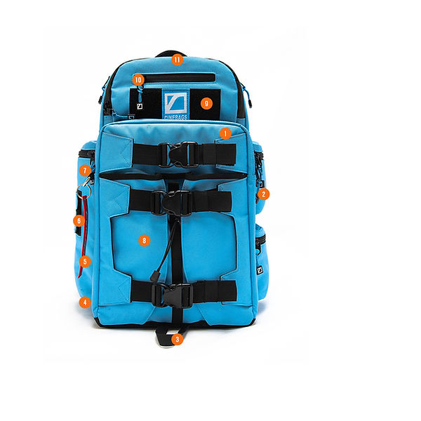 CB25 Revolution Backpack - Electric Blue Limited Edition