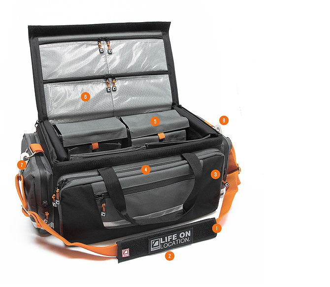 CineBags award winning CB01 Production Bag, 2020 Edition. Stay organized on the set or on location