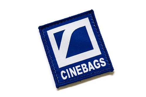 CineBags logo patch - royal blue