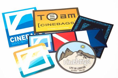 CineBags Sticker pack