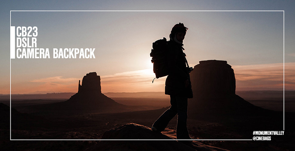 """CineBags CB23 DSLR Backpack, modular backpack to carry your lenses, bodies, and 15"""" laptop, all in a carry-on format"""